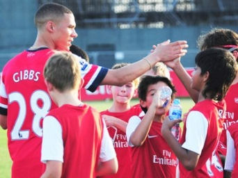 ootball + Spanish Valencia Marbella - Enforex - LEARN SPANISH WHILE PLAYING SOCCER WITH ARSENAL  SOCCER  SCHOOLS, Spain