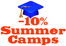 10% Discount on Summer Camps